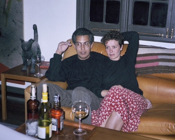 Anthony Hernandez and Judith Freeman, around the time they were married in 1986
